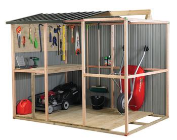 Timber Frame Shed Kits
