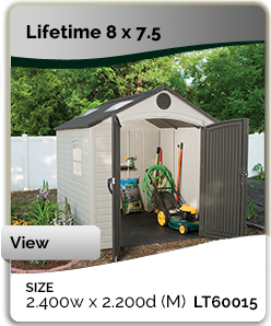 Plastic NZ Garden · Zealand Sheds New
